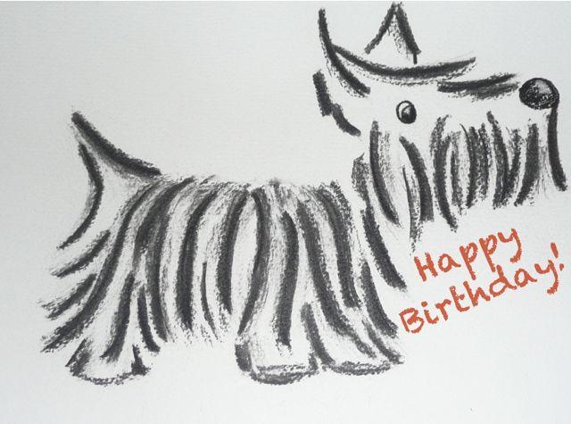 Belated birthday wishes mackay scottish terrier health network m4hsunfo
