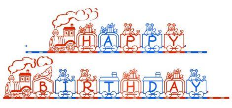 happy birthday train copy